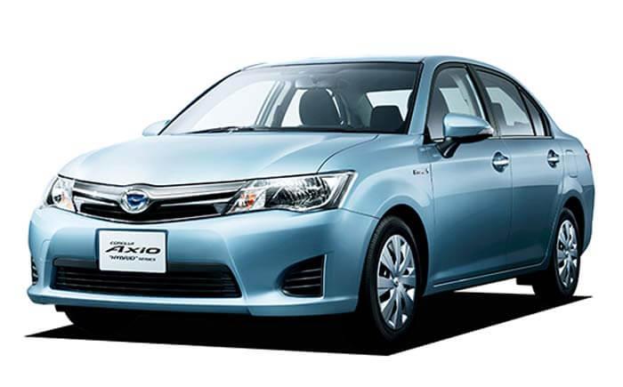 Rent A Toyota Axio in Sri Lanka