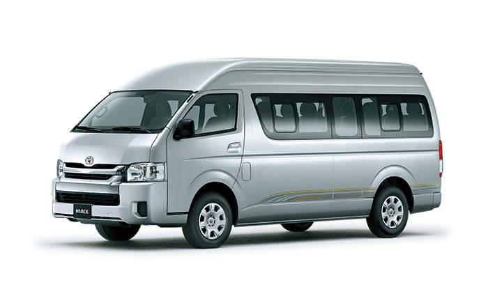 Rent A Toyota Grand Cabin 13 Seater in Sri Lanka