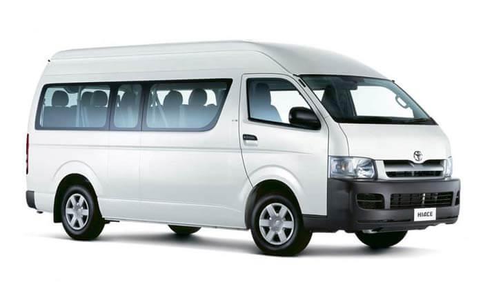 Rent Toyota Hiace Commuter 15 Seater in Sri lanka