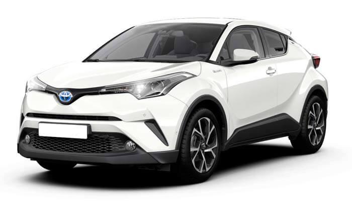 Rent a Toyota CHR in sri lanka